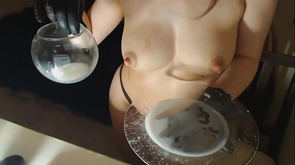 Lick milk from a plate --www.myclearsky.live-- Thumb