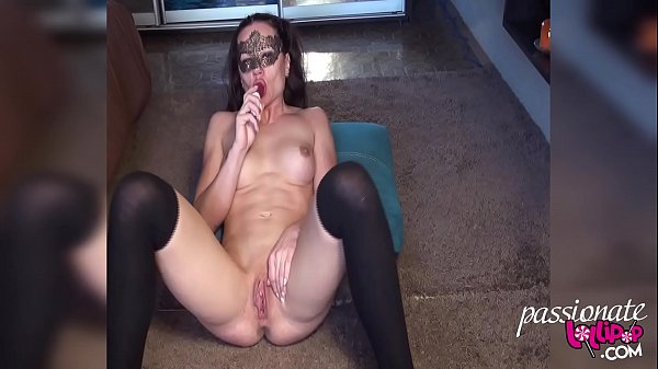 Muscle MILF Play Pussy Sex Toys in Stockings Thumb