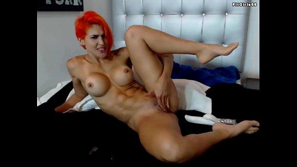 Fitness Redhead Cam Girl