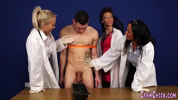 Cfnm brit doctor facial
