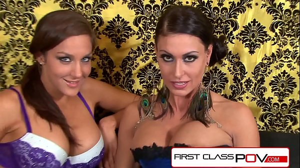 Jessica Jaymes and Kiera King suck and fuck 10 inch cock Thumb