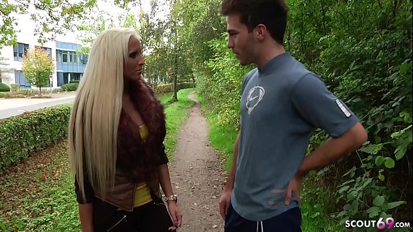 German Teen Tight Tini Talk from Street to Fuck by Stranger Thumb