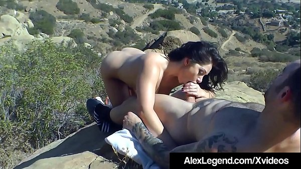 Fat Dick Alex Legend Fucks Lea Lexis While Hiking The Hills! Thumb