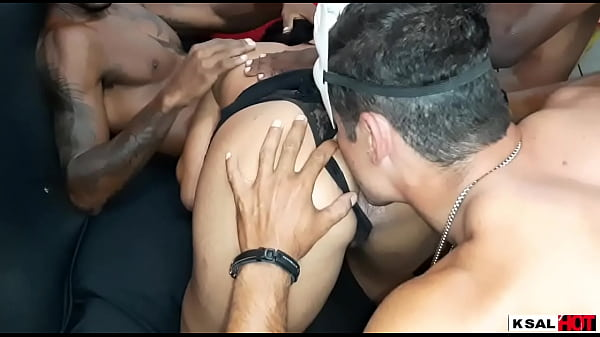 Ksal Hot, arrives from her tour tour, and the naughty Danny hot asked her friend, call three gifted to fuck her, without your husband at home. Thumb