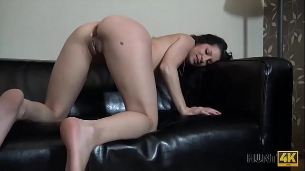 HUNT4K. Real cuckold allows stranger to fuck his nice girlfriend