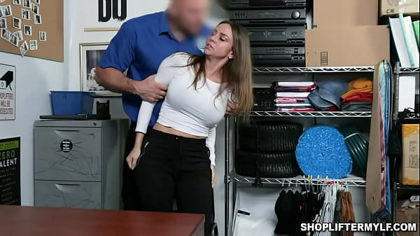 Sexy MILF Havana Bleu taught that shes an expert in stealing but got caught on cctv and fucked inside the office. Thumb