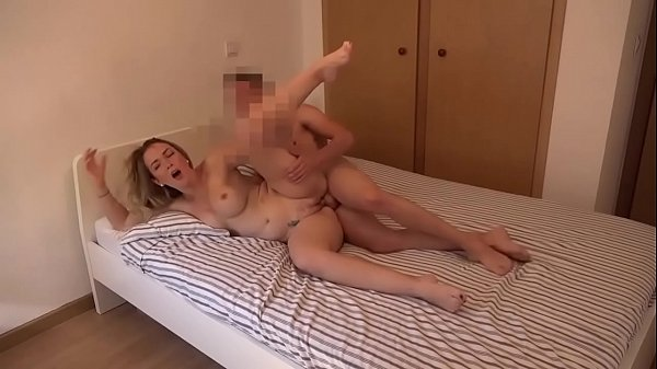 Paola catches her roommate jerking it off and fucks him Thumb