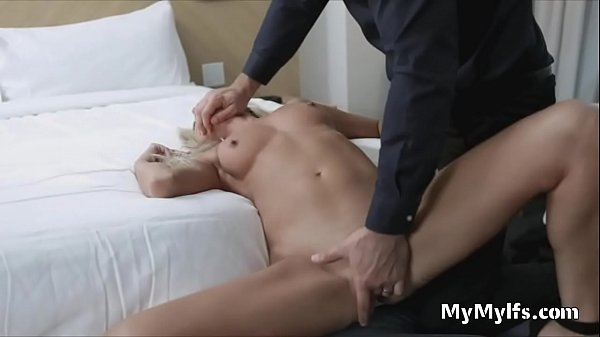 Milf likes it rough with a big white dick Thumb