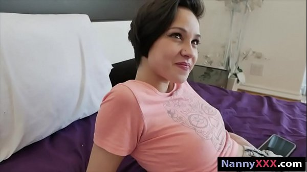 Teen nanny pounded by her boss for money Thumb