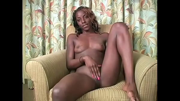 Ebony goddess makes your stroke your tiny cock - JOI