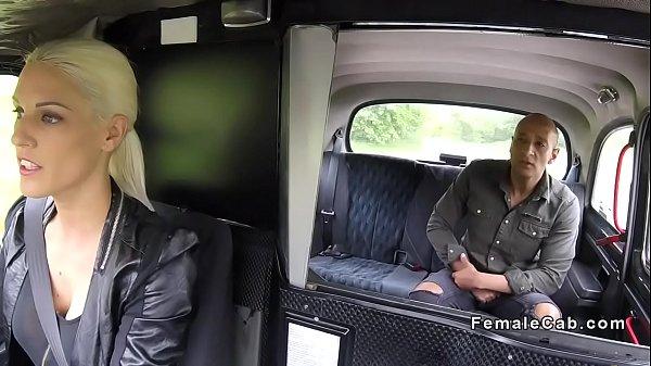 Bulgarian tourist fucks female cab driver