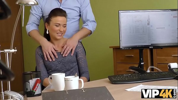 VIP4K. Slutty Fraces wants to taste the dick of her loan manager Thumb