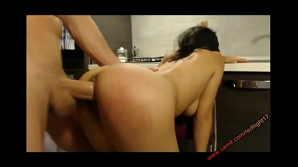 Hot anal sex surprise for a hot brunette girl