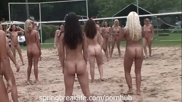 NAKED BEACH VOLLEYBALL Thumb