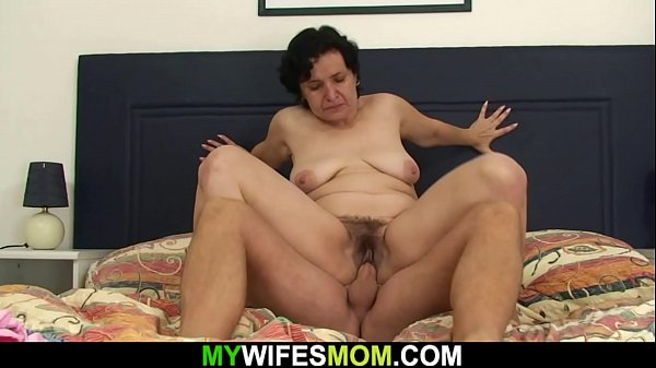 Very hairy m. in law taboo cock riding