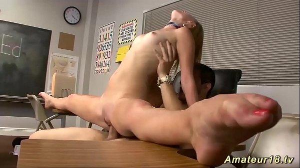 flexi schoolgirl gymnast rough fucked Thumb