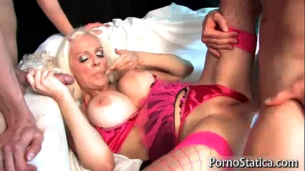 Slut Dolly Delight Fucked By Two Guys 4