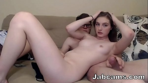 Jabcams.com - Sexy Couple On Cam Thumb