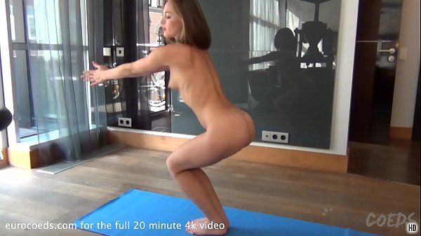 super sexy mira doing nude yoga for the first time Thumb