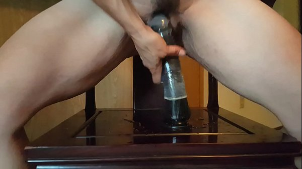 Dildo making me squirt & come!