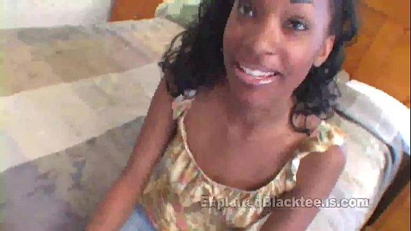 College Black Girl Fucks a White Cock Thumb