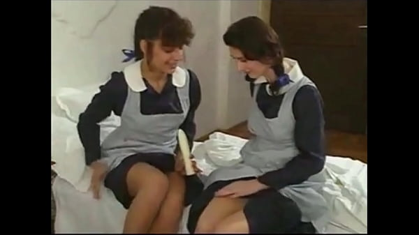 Schoolgirls threesome...Anal Thumb