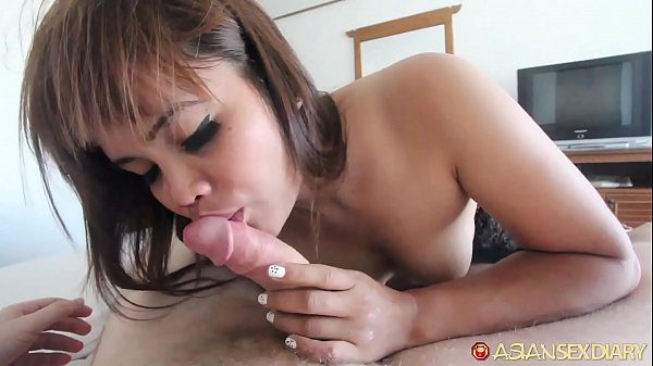 ASIANSEXDIARY Hairy Muff Asian Lets Stranger Chow Down