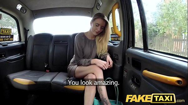 Fake Taxi New driver fucks hot blonde passengers soaking wet pussy Thumb