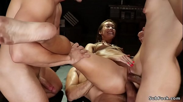 Petite Asian double penetration bdsm