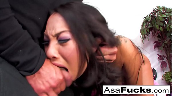 Asa Akira's Crazy Hot Anal Sexy Scene Ends With A Cumshot!