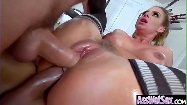 (Phoenix Marie) Slut Girl With Big Oiled Butt Get Hard Anal Sex movie-27