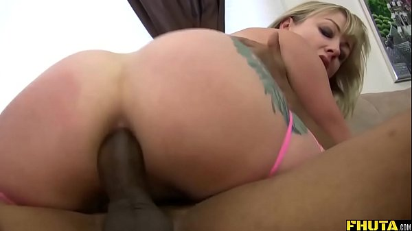 Adrianna Nicole Swallows A Monster Cock