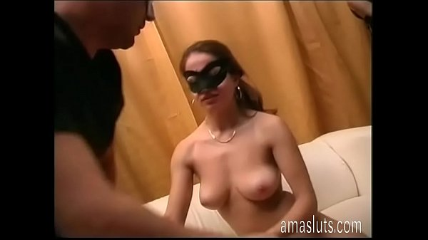 Passionate kiss and dirty sex for a real couple...