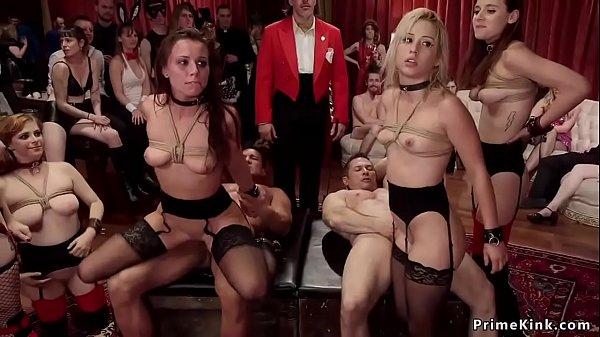 Halloween costume ball anal orgy fucking Thumb