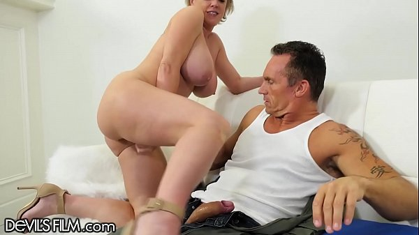 DevilsFilm MILF Squirts Gushers on Military Hubby's Cock Thumb