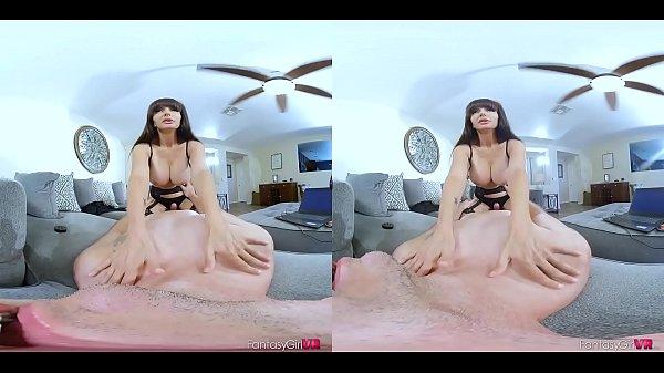 Catalina Cruz girlfriend in vr porn mistress lingerie stocking heels