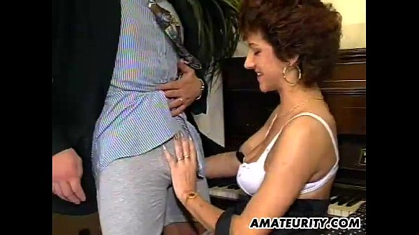 Sexy hungarian mature 3some