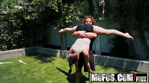 Mofos – MFX Alina Lopez - Naughty Yoga Instructor tried to fuck my girlfriend Thumb