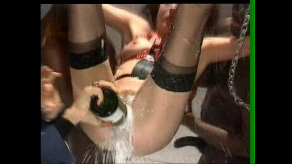 American hot girl in sex party