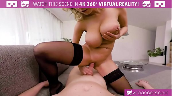 VRBangers.com Busty Teacher Katerina Hartlova Seduces and Sucks Student