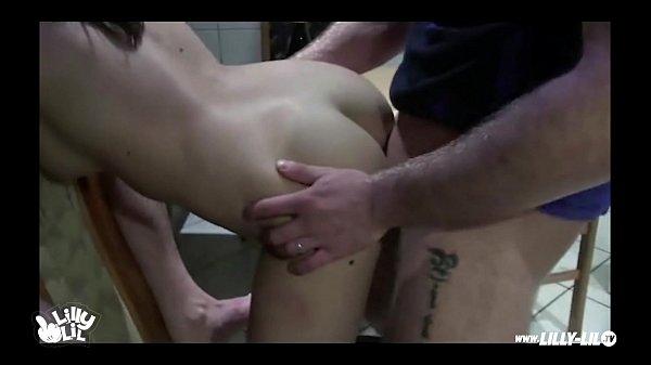 Teen Girl Anal Threesome Double Fucked German Thumb
