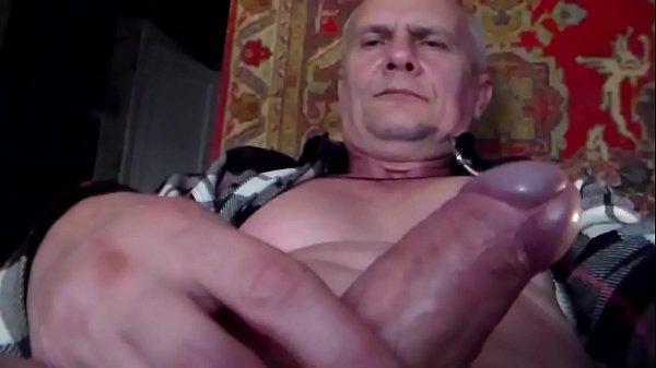 Victor Home Masturbates Cock