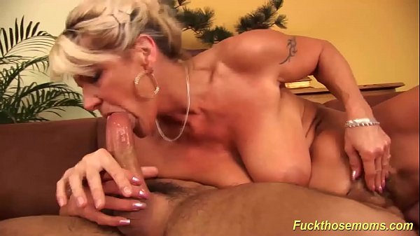 hot busty mom rough banged by her toyboy