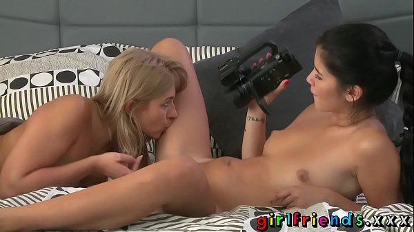 Girlfriends Lez best friends make hot sex tape