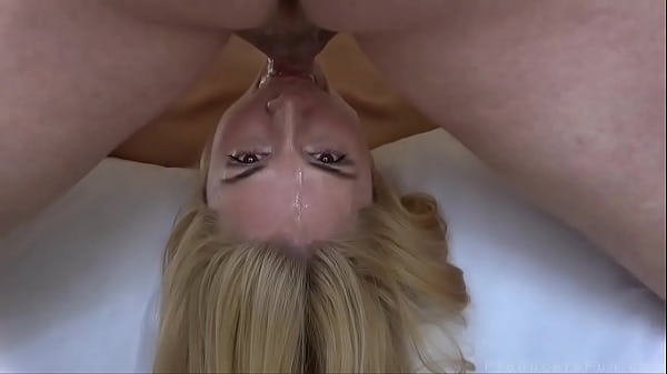 Blonde With Big Tits Gets Pounded And Face Fucked