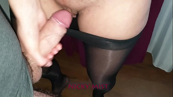 Cumming in pantyhose of my stepsister close to window Thumb
