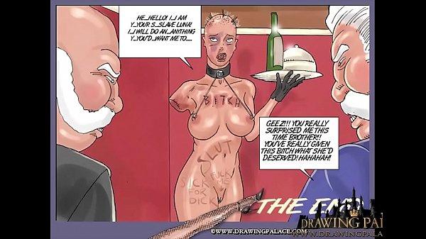 Image Brutal slave fucking anime hentai sex