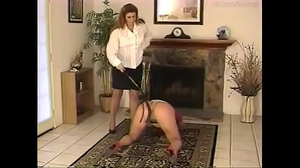 Fat-assed blonde  Karen gets whipped off the pussy Thumb