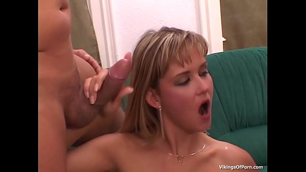 Skillful blonde girl Nikki Montana take cock in throat and anal