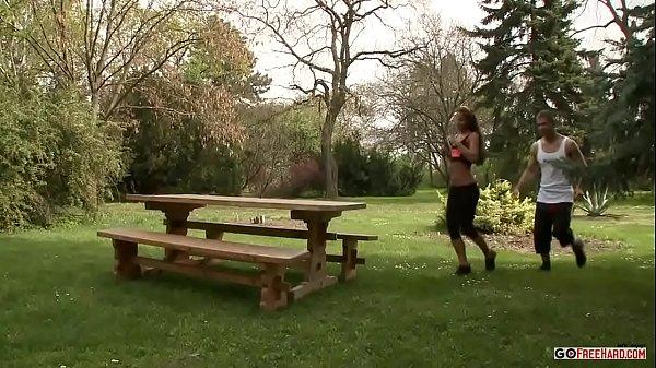 Amirah Adara Cardio Training HD; anal, teen, hardcore, ride, doggy, hd, pornstar, public, brunette,